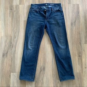30x30 The Straight 7 For All Mankind Jeans